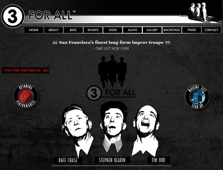 3 for All Website