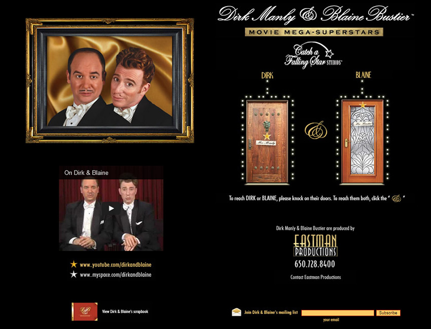 Dirk and Blaine Website