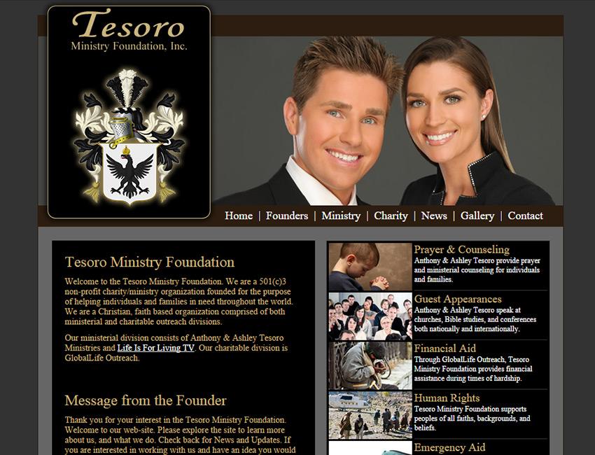 Tesoro Ministries Website