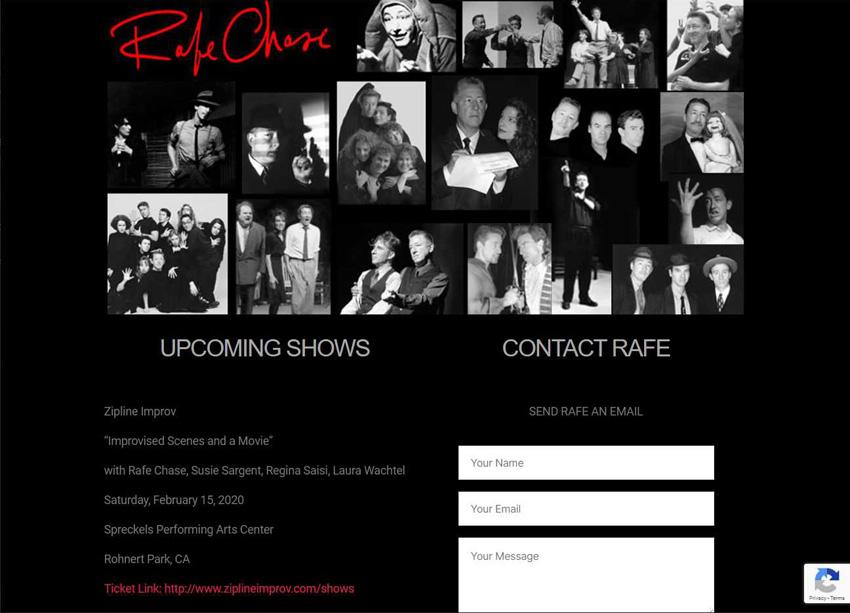 Rafe Chase Website