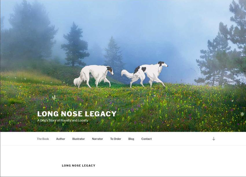 Long Nose Legacy Website
