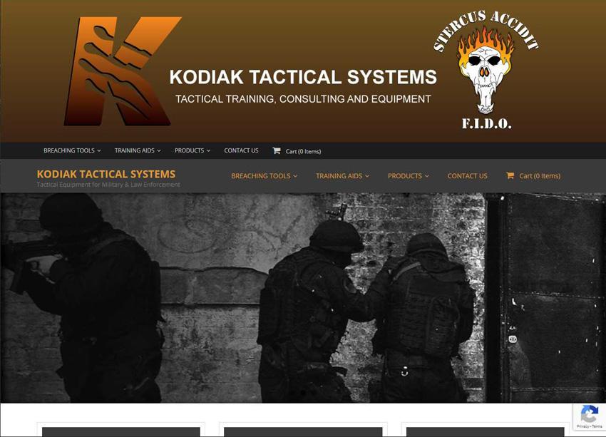 Kodiak Tactical Systems Website
