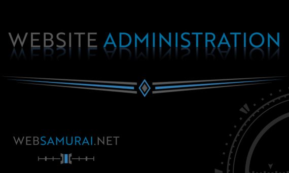 Website Administration by Web Samurai