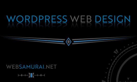 Wordpress Web Design by Web Samurai