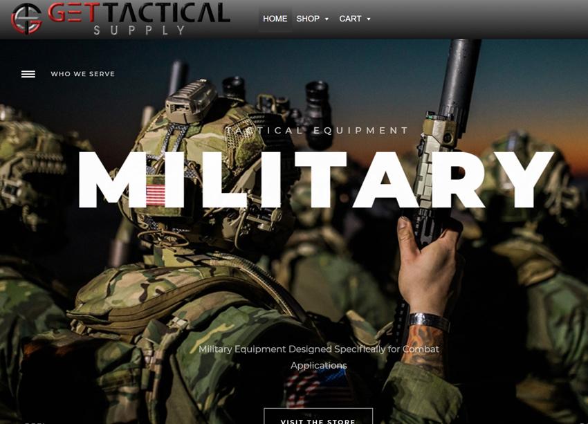 Get Tactical Supply Website