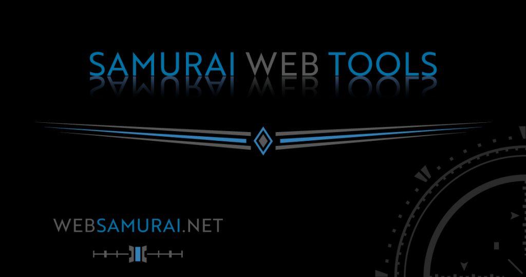 Samurai Web Tools