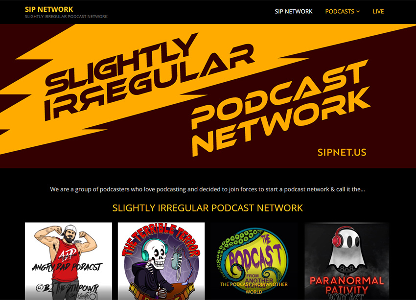SIP Network Website