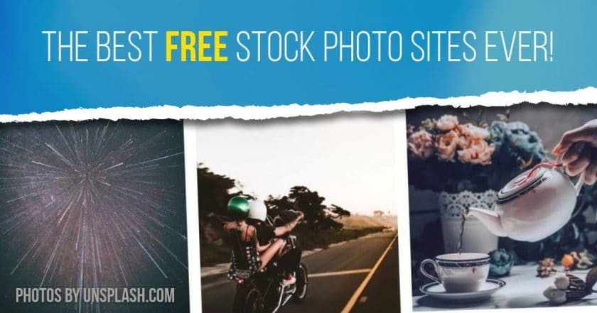 27 Best Free Stock Photo Sites Ever